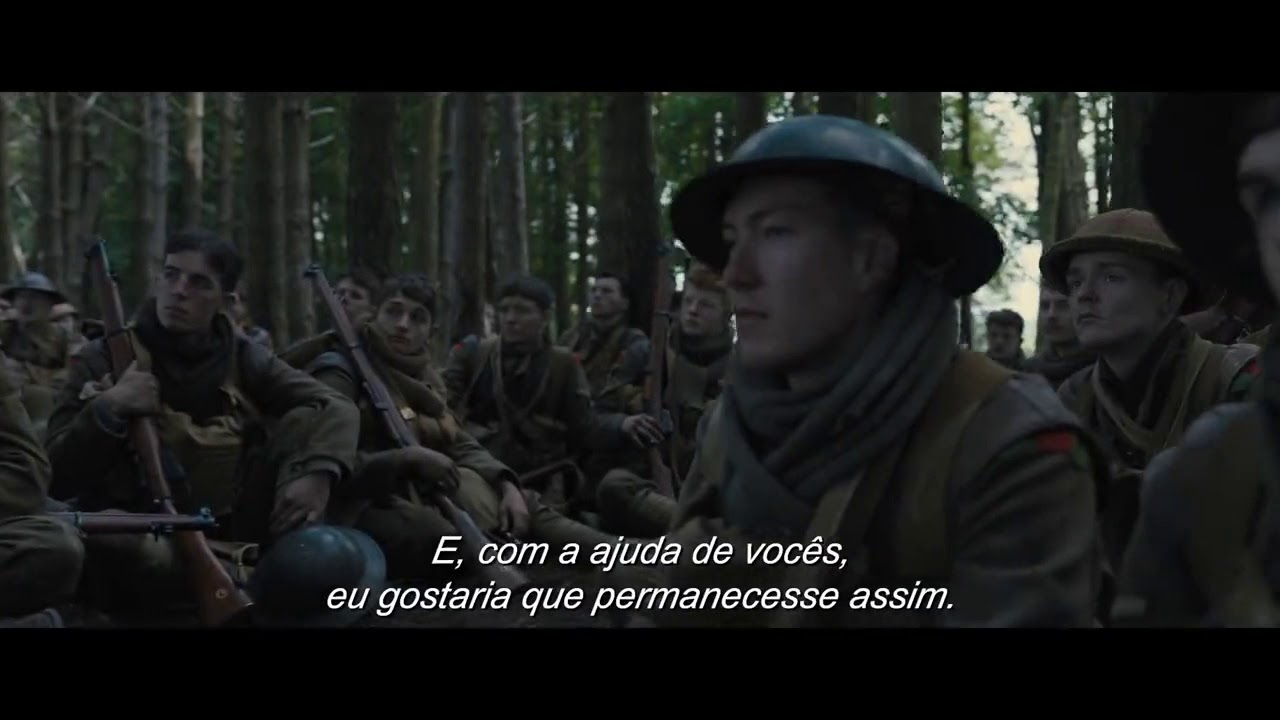 1917 - Trailer #1 Legendado