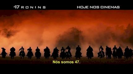 47 Ronins - Comercial - Hoje nos Cinemas