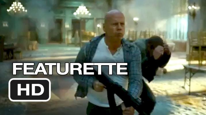 Duro de Matar: Um Bom Dia para Morrer - Featurette - Bruce Willis - Em Inglês