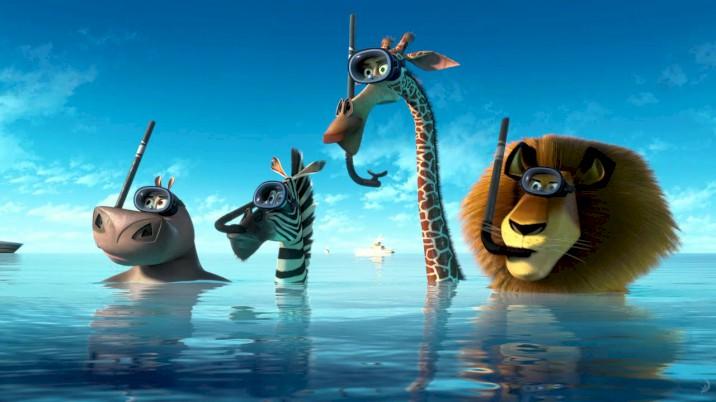 Madagascar 3: Os Procurados - Snorkeling - Clipe em Inglês