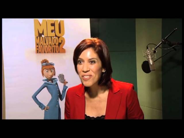 Meu Malvado Favorito 2 - Clipe Maria Clara fala sobre o processo de dublagem