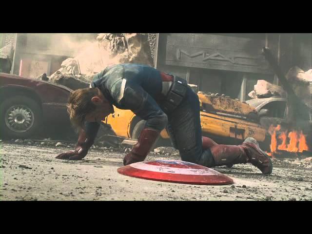 Os Vingadores - Cena de Luta com Capitão América e Thor